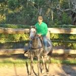 Quiet Ride in the Yard