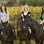 Riders in the Margaret River Vineyard