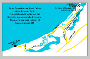 Beach Map Busselton